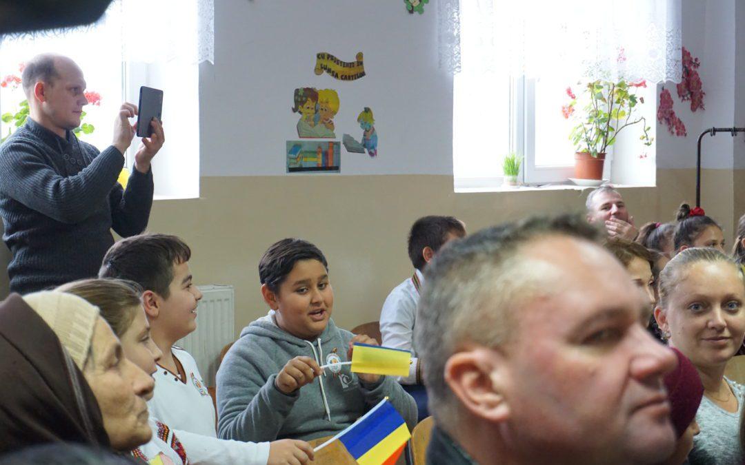 La multi ani, Romania, din scoala diversitatii!