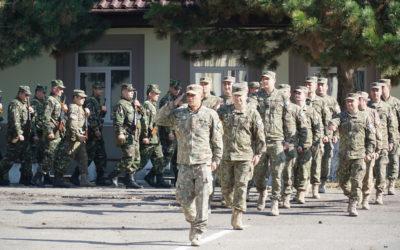 Cadenta in kaki militar